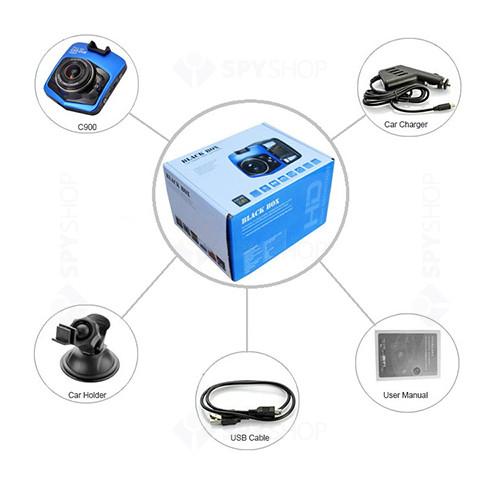 Camera Full HD pentru masina si DVR cu LCD C900