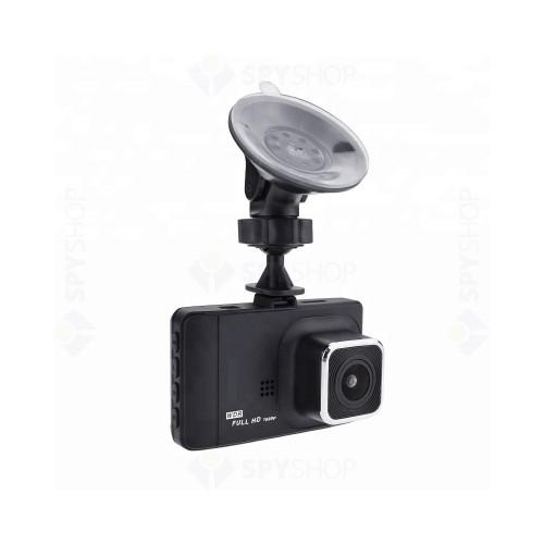 Camera pentru masina T518, 2 MP, ecran 3 inch, WiFi, GPS