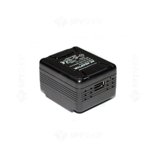Camera spion disimulata in alimentator LawMate PV-UC10I, 2 MP, detectia miscarii, WiFi
