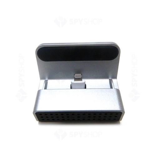 Camera spion disimulata in statie de incarcare LawMate PV-CHG20i, 2 MP, iOS, WiFi