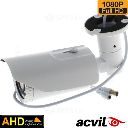 SISTEM SUPRAVEGHERE EXTERIOR AHD CU 8 CAMERE VIDEO ACVIL AHD-8EXT60-1080P