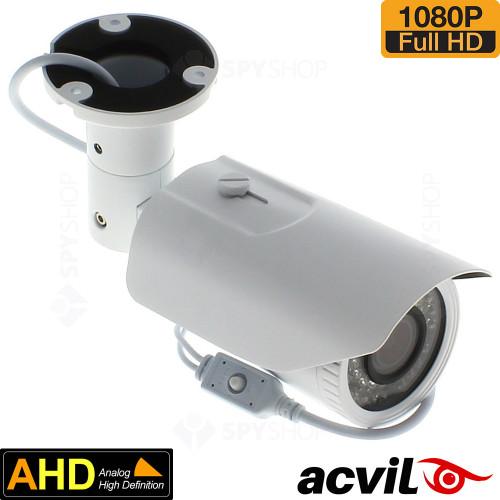 SISTEM SUPRAVEGHERE EXTERIOR AHD CU 4 CAMERE VIDEO ACVIL AHD-4EXT60-1080P
