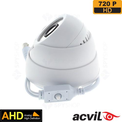 Camera supraveghere dome AHD Acvil AHD-DF20-720P
