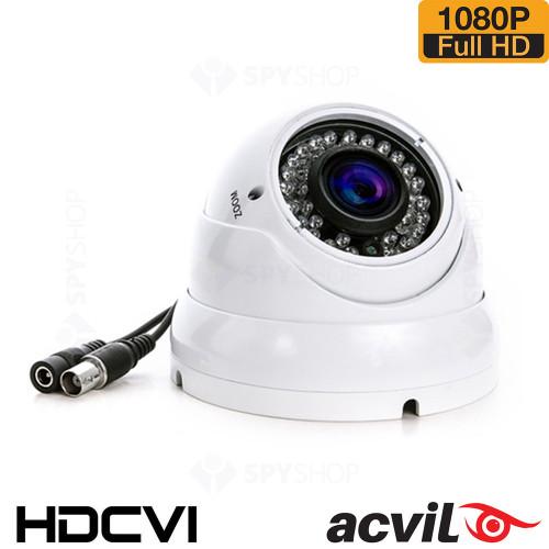 Camera supraveghere dome HDCVI Antivandal Acvil CVI-DV30-1080P