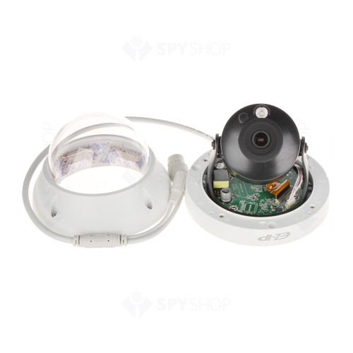 Camera supraveghere Dome IP Dahua EZ-IP IPC-D2B40, 4 MP, IR 30 m, 2.8 mm