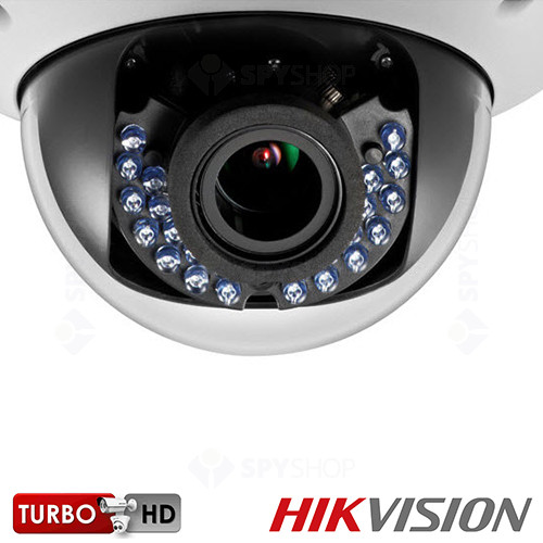 Camera supraveghere dome Turbo HD Hikvision DS-2CE56D1T-AVPIR3