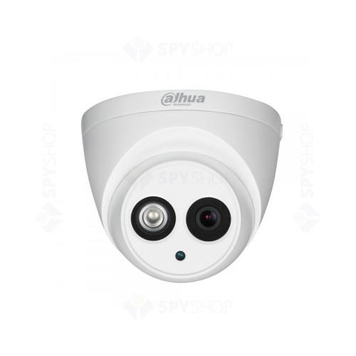 Camera supraveghere dome Dahua HAC-HDW1200EM, 8 MP, IR 80 m, 3.6 mm