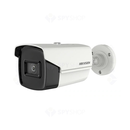 Camera supraveghere exterior Hikvision TurboHD DS-2CE16U1T-IT3F, 8 MP, IR 60 m, 2.8 mm