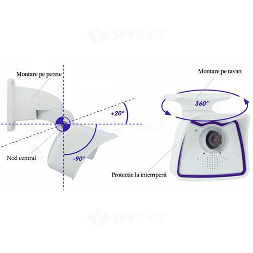 Camera supraveghere IP Megapixel Mobotix MX-M24M-Sec-D43