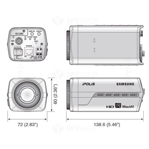 Camera supraveghere IP Megapixel Samsung SNB-5000