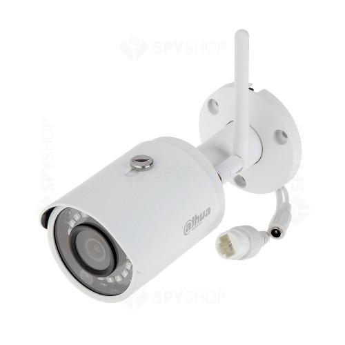 Camera supraveghere IP wireless Dahua IPC-HFW1235S-W-0360B, 2 MP, IR 30 m, 2.8 mm