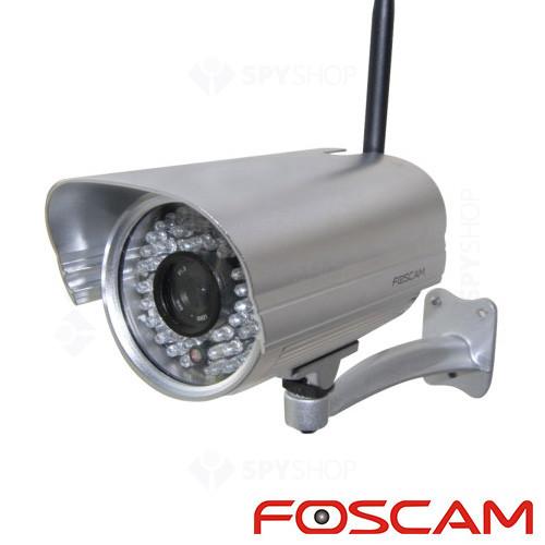 Camera supraveghere IP wireless de exterior Foscam FI9805W