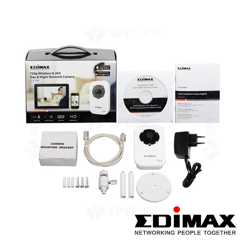 Camera supraveghere wireless IP Edimax ic-3116w