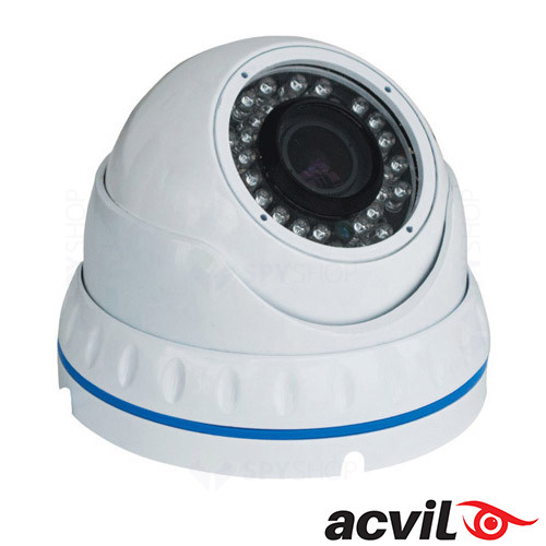 Camera video dome interior 800LTV Varifocal ACVIL DM-2812-30WT