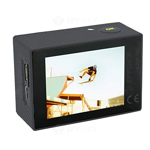 Camera video pentru sportivi Discovery Adventures 8785104, 4K, 170 grade, WiFi