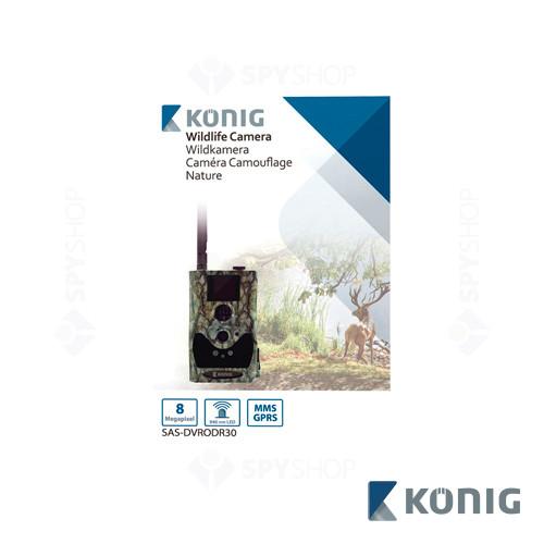 Camera video pentru vanatoare 8MP GPRS/MMS Konig SAS-DVRODR30