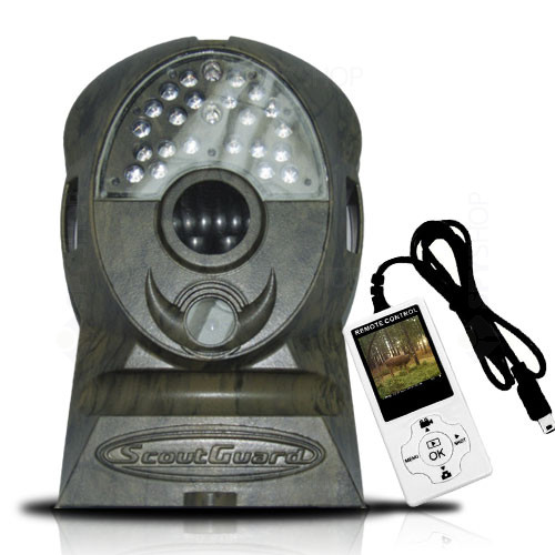 Camera video pentru vanatoare cu telecomanda LCD