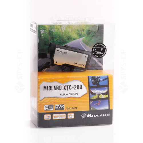 Camera video portabila multifunctionala Midland XTC-200