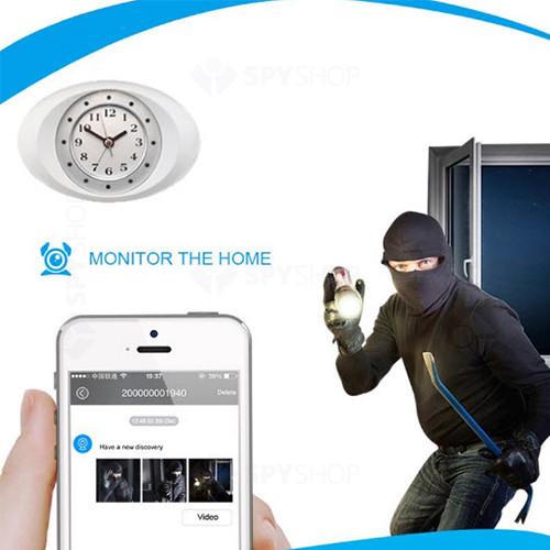 Camera wireless ascunsa in ceas de birou Zoneinc SS-CA88