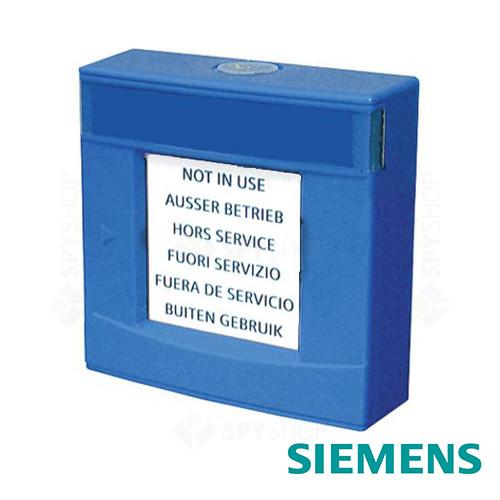 Carcasa albastra cu geam si cheie Siemens FDMH293-B