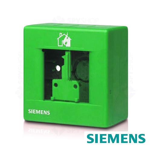Carcasa buton de incendiu verde Siemens FDMH291-G