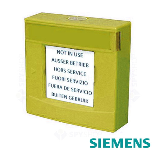 Carcasa galbena cu geam si cheie Siemens FDMH293-Y