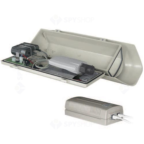 Carcasa Hi-PoE cu parasolar Videotec HOV32K2A600
