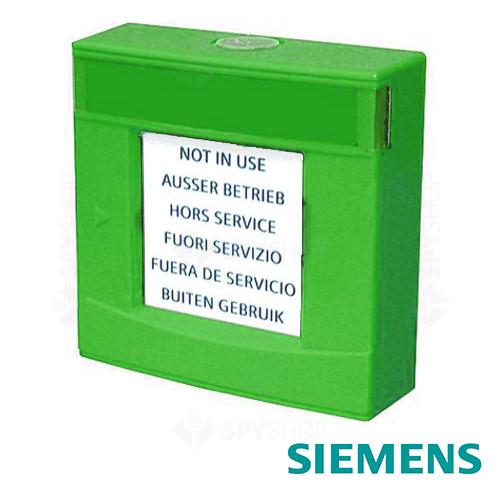 Carcasa verde cu geam si cheie Siemens FDMH293-G
