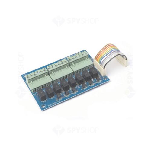 Card 8 iesiri pe releu programabile Mxp-008