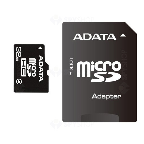 Card de memorie A-DATA MicroSDHC 32GB + ADAPTOR