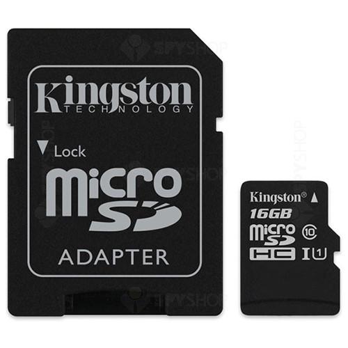 Card de memorie Kingston MicroSDHC 16GB