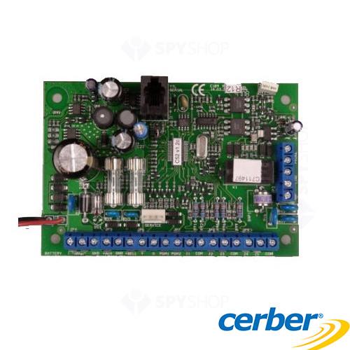 Centrala alarma antiefractie Cerber C41V4 pcb