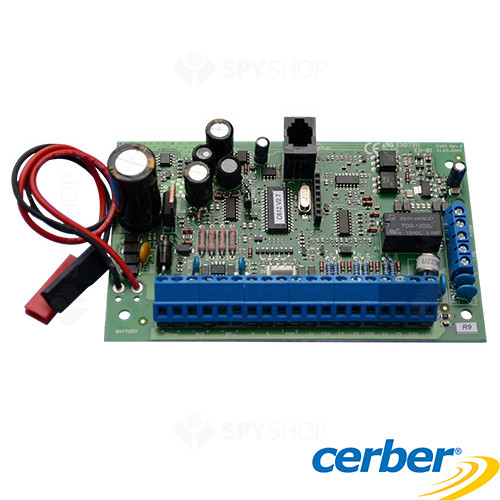 Centrala alarma antiefractie CERBER C612 PCB