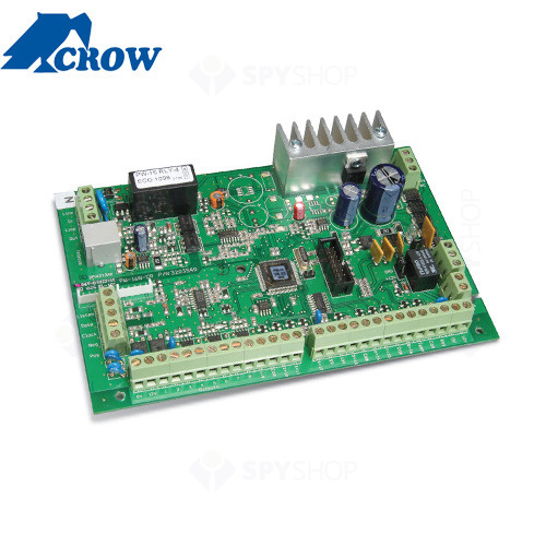 Centrala alarma antiefractie Crow Power Wave 16 LED