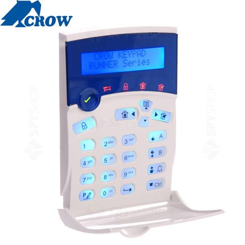 Centrala alarma antiefractie Crow RUNNER 8/16 LCD
