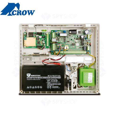 Centrala alarma antiefractie Crow RUNNER 4/8 LCD