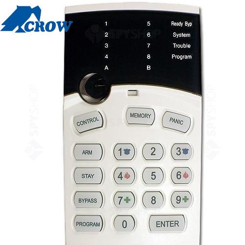 Centrala alarma antiefractie Crow RUNNER 8/16 LED