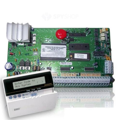 Centrala alarma antiefractie DSC Maxsys PC 4020A