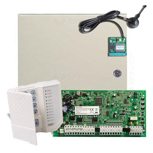 Centrala alarma antiefractie DSC Power PC 1616-SMS