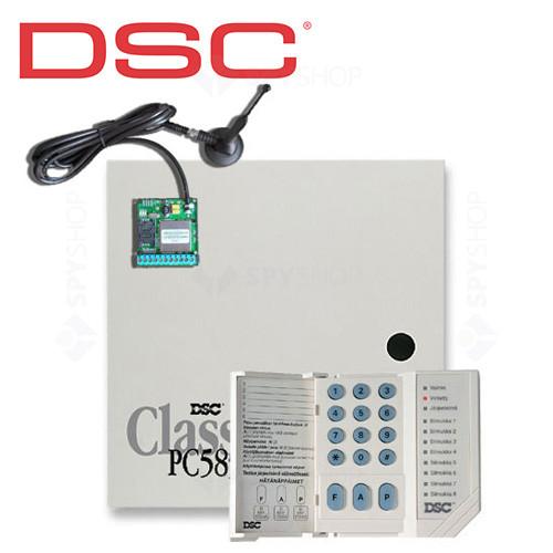 Centrala alarma antiefractie DSC Power PC 585 + SEKA GPRS