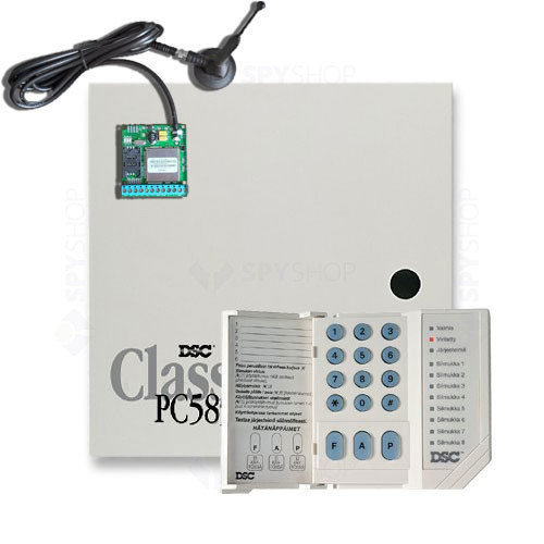 Centrala alarma antiefractie DSC Power PC 585-SMS