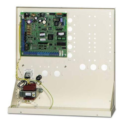 Centrala alarma antiefractie in cutie metalica mare UTC Fire&Security ATS-4599, 16-256 zone, 200 evenimente, 16 partitii