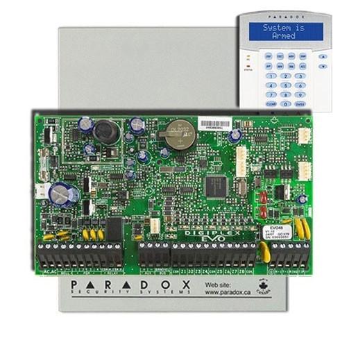 Centrala alarma antiefractie paradox digiplex evo192+K641R
