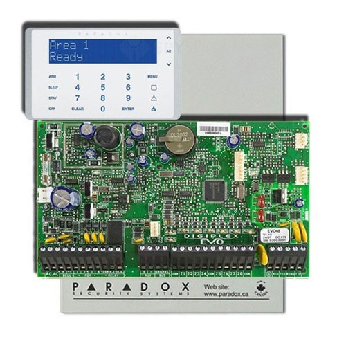 Centrala alarma antiefractie Paradox Digiplex EVO192+K656