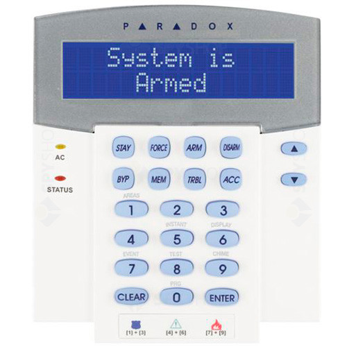 Centrala alarma antiefractie paradox digiplex evohd + K641LX