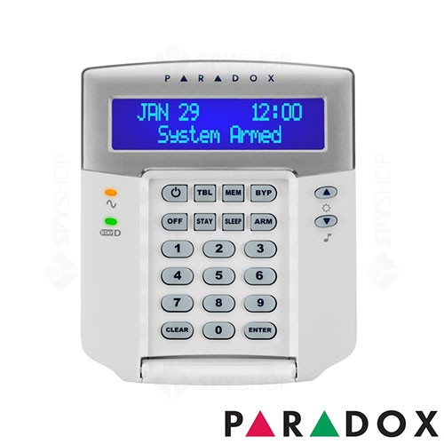 Centrala alarma antiefractie Paradox Spectra SP 4000+K32LCD