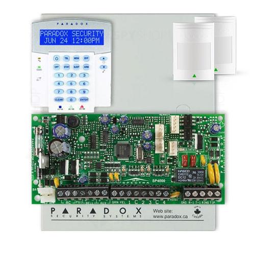 Centrala alarma antiefractie Paradox Spectra SP 4000+K32LX+476+