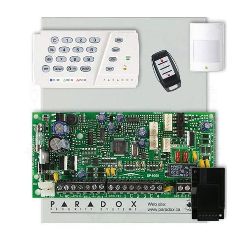 Centrala alarma antiefractie Paradox Spectra SP 4000+K636+RX1