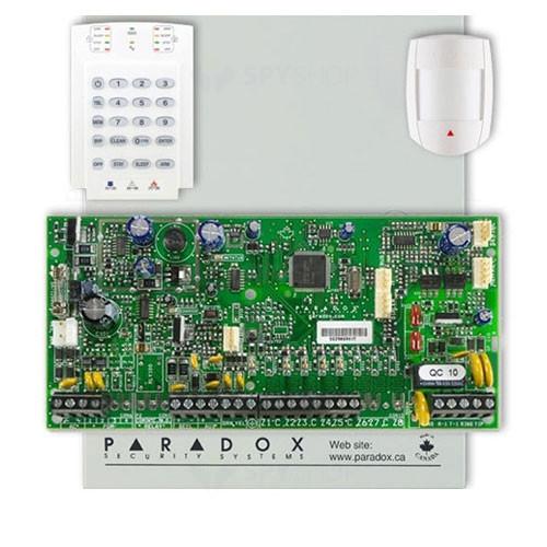 Centrala alarma antiefractie Paradox Spectra SP 65+K10V