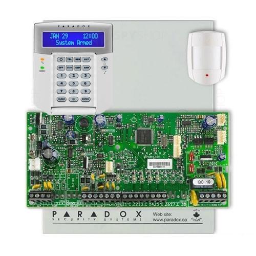 Centrala alarma antiefractie Paradox Spectra SP 5500+DG55+K32LCD